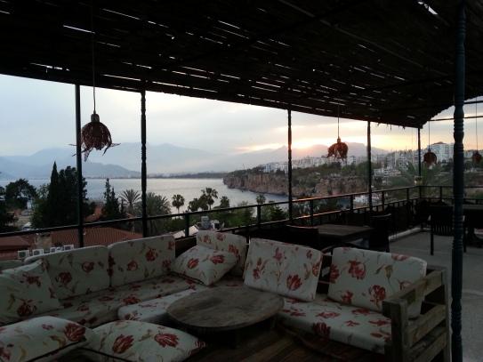Blick von der Dachterrasse Villa Tulipan