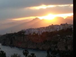 Steilküste vor der Altstadt