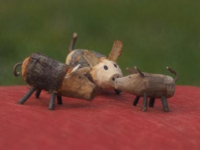 Wildschweinfamilie...