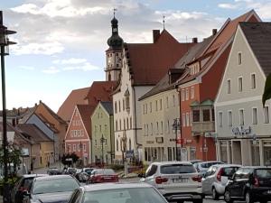 Sulzbach-Rosenberg bei der Ankunft