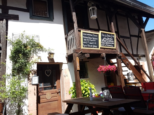 "Im ""Swiss house"" in Leinsweiler"