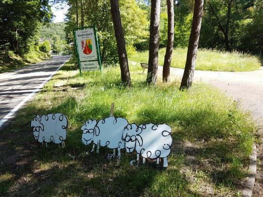 Ortsanfang von Bindersbach