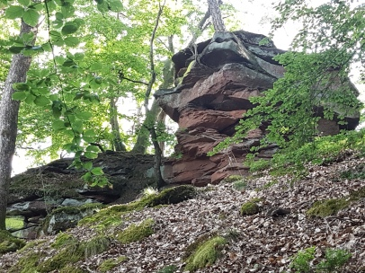 ...und ein schöner Felsen