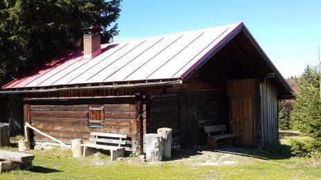 """Hütte auf dem """"Verlorenen Schachten"""""""