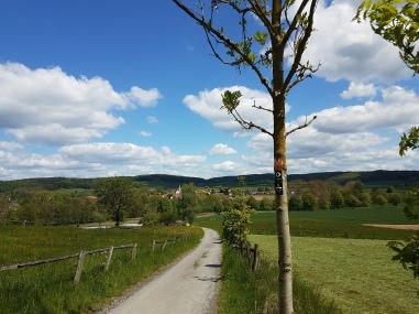 Auf dem Weg nach Alhausen